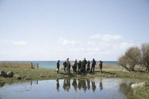Strandsafari i den nationale seværdighed ved Voderup Klint på Ærø med naturvejleder Nils Ørum