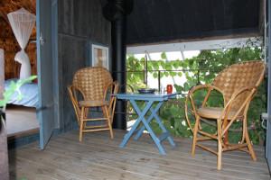 Ferielejlighed Væksthuset på Ærø i det sydfynske øhav